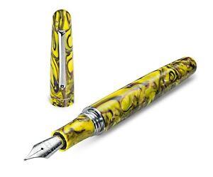 Montegrappa Elmo 01 Fountain Pen Iris Yellow M
