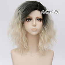 New Hot Lolita Curly Short Anime Women Cosplay Wig Heat Resistant