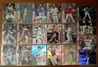 x24) 2020 Topps Update & Series 1 Rainbow Foil Lot - Bregman, Stanton Etc.