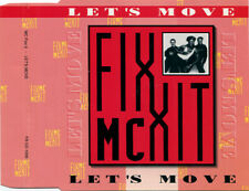 MC FIXX IT - Let's move 3TR 3-inch CD-single 1990 HIP-HOUSE