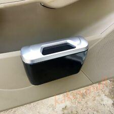 Auto Vehicle Car Door Trash Rubbish Bin Can Garbage Dust Case Holder Storage Box