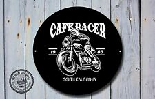 Cafe Racer Metal Sign, Biker, Vintage, Motorbike, Motorcycle, Advertising, 963