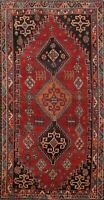 Antique Geometric Tribal Handmade Wool Area Rug Traditional Oriental 4x7 Carpet