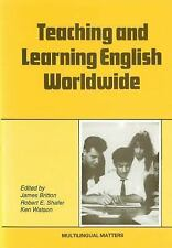 Teaching and Learning English Worldwide (Multilingual matters)-ExLibrary