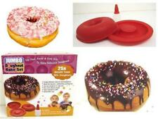 BIG GIANT DONUT DOUGHNUT CAKE MAKER SILICONE TOP MOULD