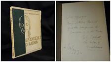 Brandelli d anima - Enzo Garibaldi Caliò – Edizioni Mundus 1933 Autografato