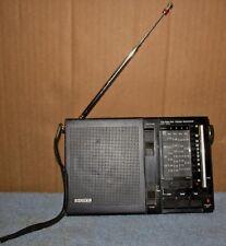 Vintage SONY ICF-7600 7 Band Transistor Radio Receiver FM/MW/SW J0766