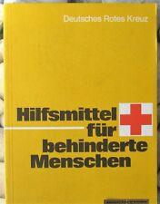 DRK Hilfsmittel für behinderte Menschen, bebildert Sachregister, 1980 Dienstgebr