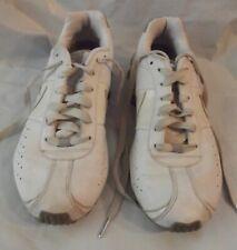Women's Size 11 NIKE WHITE CLASSIC SHOX RUNNING SHOES 343907-111
