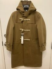 NEW Uniqlo U Blocktech Duffle Coat Brown XS