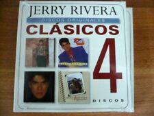 Clasicos [Abriendo / Cuenta / Cara / Canto] Jerry Rivera (CD, 4 Discs) SEALED