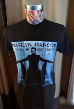 BRAND NEW MARILYN MANSON BLUE HELL NOT HALLELUJAH TOUR BLACK T SHIRT