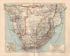 Südafrika KAP Kolonien DSWA Kapstadt  historische  LANDKARTE 1895