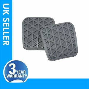 2X Brake Clutch Pedal Rubber For Vauxhall / Opel Astra J H G Omega  90468789