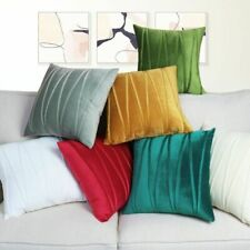 Pure color Velvet Pillowcase Cushion Cover Car Bed Sofa Home decor