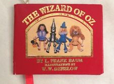 "Wizard of Oz 2 1/2 X3 1/4"" Red Story Book Figurine Ornament"