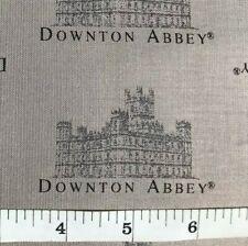 Downton Abbey - Small Print Quilt Fabric - Gray - Fat Quarter