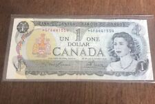 Bank Of Canada 1973 $1 One Dollar Bill Replacement Note Circulated * GF C128