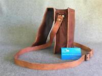 "Handmade Goat Leather 9"" Shoulder Flap Bag FXST iPad Mini Billy Goat Designs"