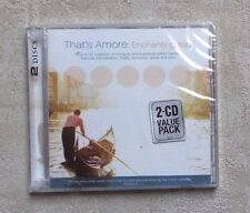 CD AUDIO MUSIQUE/ THAT'S AMORÉ : ENCHANTING ITALY 24T 2XCD COMPILATION 2004 NEUF