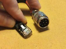 Yaesu Ft-817,857,891,991,450,microphone Adapter Cable To 8 Pin Yaesu Microphone
