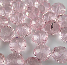 NEW DIY Jewelry Faceted 100pcs Rondelle crystal #5040 3x4mm Beads Pink BZY88