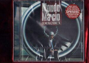 MONDO MARCIO-GENERAZIONE X CD NUOVO SIGILLATO