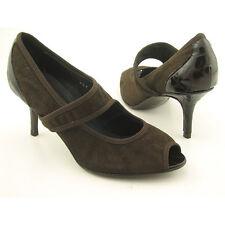 NIB DONALD J PLINER Tsa Brown Heels Shoes Womens Size 7M