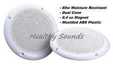 "E-audio Bathroom 5"" Quality Dual Cone Moisture Resistant Speakers (4 Ohms 80W)"
