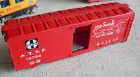 Vintage 1980s HO Scale Life Like Santa Fe 140185 Box Car Shell