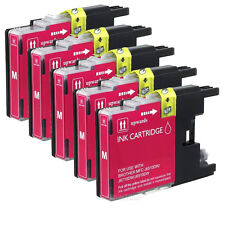 5 Pk LC75 LC-75 M Ink For Brother MFC-J280W, MFC-J425W  MFC-J435W MFC-J625DW