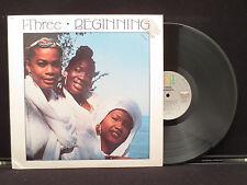 I-Three: Beginning on EMI America Records ST17222 Promo Copy