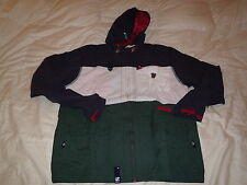 L-R-G Lifted Research Group LRG Jericho Zip Up Hooded Jacket Size XL