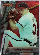 1994 Bowman Bowman's Best Greg Maddux Atlanta Braves Baseball Card  9876A8