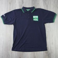 Mens Vintage Heineken IRB Rugby World Cup 2015 15 Tipped Polo Shirt S Navy