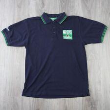 Vintage pour homme HEINEKEN IRB Coupe du monde de rugby 2015 15 Tipped Polo Shirt S Bleu Marine