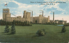 Racine WI * Horlick's Malted Milk Plant and Advertising  ca 1908