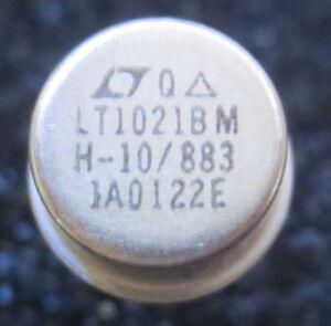 1 x LT1021BMH-10-883 Spanungsreferenz 10V GEHÄUSE: TO5 - Linear Technology NOS