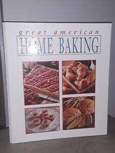 Great American Home Baking 3 Ring Binder Cookbook