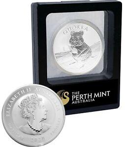 2020 1oz Silver Quokka Perth Mint Coin 99.99% Pure BU Bullion Air Case RARE