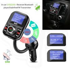 USB Autoradio DAB+ Empfänger FM Transmitter Wireless LCD Display Bluetooth HOT
