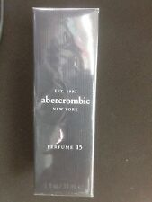 ABERCROMBIE PERFUME 15 WOMEN 1.0/ 1 OZ/ 30 ML SPRAY NEW IN BOX NO PLASTIC WRAP