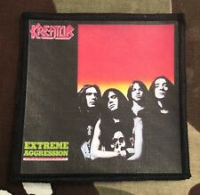 Kreator Extreme Aggression Printed Patch K013P Destruction Slayer Exodus
