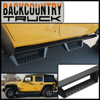 BackCountryTruck Drop Nerf Step Bars fit 2018-2021 Wrangler Unlimited 4 Door JL