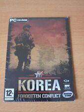 JEUX VIDEO KOREA FORGOTTEN CONFLICT PC CD-ROM WINDOWS