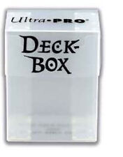 """Ultra Pro Up81454 10"""" 5 Deck Boxes White"""
