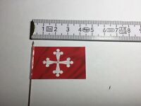 423) 25mm 28mm Medieval Renaissance Italian War Pisa Flag Banner No.1 NEW