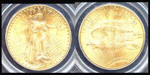 1927 $20 MS65 PCGS & PQ-ST. GAUDENS