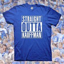 STRAIGHT OUTTA KAUFFMAN T-Shirt Kansas City Royals Bad Boys of KC Mets Nike Cubs
