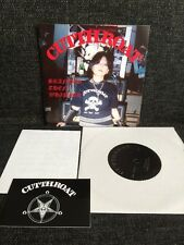 """Cutthroat – Branded Then Whipped 7"""" The Infernal Thrashing Records Metal"""